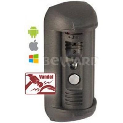 DS03M  1/3'' SONY Effio-E, 650 ТВЛ, 0.1 лк (день) / 0.01 лк (ночь), SIP-протокол, ИК-подсветка (до 10 м), 2DNR, встроенный динамик и микрофон, подключение исполнительного устройства, антивандальное исполнение, 12 В (DC), от -40 до +50°С